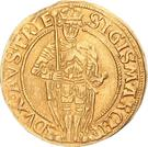 1 Goldgulden - Sigismund posthumous (Hall) – obverse