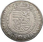 1 Thaler - Ferdinand II of Tyrol (Hall) – reverse
