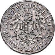 1 Thaler - Ferdinand I (posthume) Ferdinand II of Tyrol – reverse