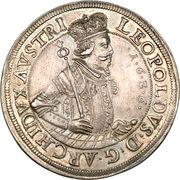 2 Thaler - Archduke Leopold V (Hall) – obverse