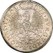 2 Thaler - Archduke Leopold V (Hall) – reverse