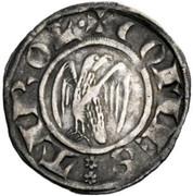 Eagle Groschen /Adlergroschen Meinhard II – obverse