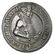 1 Guldenthaler - Ferdinand II of Tyrol (Mühlau) – obverse