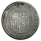 1 Guldenthaler - Ferdinand II of Tyrol (Mühlau) – reverse