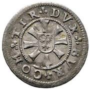 1 Kreuzer - Ferdinand II of Tyrol – reverse