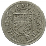 2 Kreuzer - Ferdinand II of Tyrol Posthumous – reverse