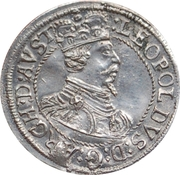 3 Kreuzer - Leopold V Landesfürst for Tyrol (1626 -1632) – obverse