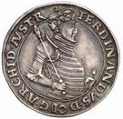 10 Kreuzer - Ferdinand II of Tyrol (Mühlau-Hall) – obverse
