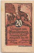 20 Heller (Brandenberg in Tirol) -  obverse