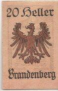 20 Heller (Brandenberg in Tirol) -  reverse