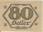 80 Heller (Brandenberg in Tirol) – reverse
