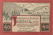 40 Heller (Jochberg) -  obverse