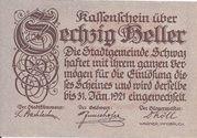 60 Heller (Schwaz) -  obverse