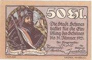 50 Heller (Schwaz) -  obverse