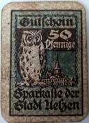 50 Pfennig (Sparkasse) -  reverse