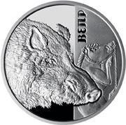 5 Hryven (The Wild Boar) -  reverse