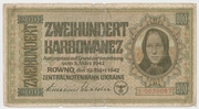 200 Karbowanez – obverse