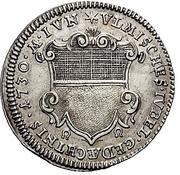 1 Ducat (Silver pattern strike; Augsburg Confession) – obverse