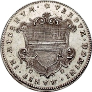 2 Ducat (Silver pattern strike; Augsburg Confession) – obverse