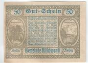 50 Heller (Ultichwendt) -  reverse