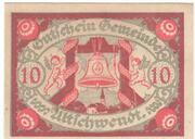 10 Heller (Ultichwendt) – obverse