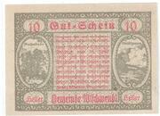 10 Heller (Ultichwendt) – reverse