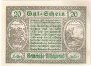20 Heller (Ultichwendt) -  reverse