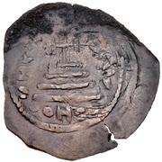 Nummus / Fals - Abd al-Malik ibn Marwan to al-Walid I ibn 'Abd al-Malik - two facing bust type (Spain & North Africa - Arab-Byzantine) – reverse
