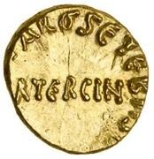 Tremissis / ⅓ Dinar - Unknown - Ifriqiya - North Africa (Spain & North Africa - Arab-Byzantine) – obverse