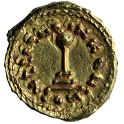 Semissis / ½ Dinar - Unknown - al-Andalus - Transitional coinage (Spain & North Africa - Arab-Byzantine) – reverse