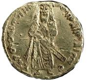 Solidus / Dinar - Abd al-Malik - standing caliph type (Arab-Byzantine) – obverse
