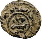 Fals - Anonymous - 696-750 AD (Iskandariya) – obverse