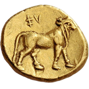 ¼ Stater – reverse