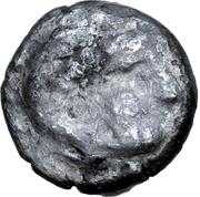 Obol (Leierblume Type) – obverse