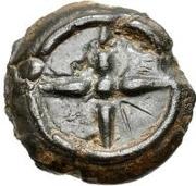 1 Uncia (Wheel / Wheel; four straight spokes) – reverse