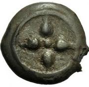 1 Uncia (Wheel / Amphora) – obverse
