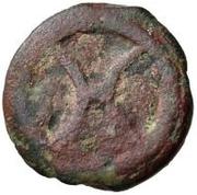 1 Uncia (Archaic wheel / Value) – obverse