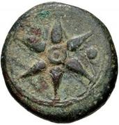 1 Uncia (Wheel / Anchor; struck) – obverse
