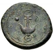 1 Uncia (Wheel / Anchor; struck) – reverse