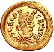 1 Tremissis - In the name of Leo I, 457-474 -  obverse