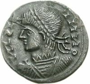 Bronze Æ - In the name of Constantine II, 337-340 -  obverse