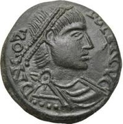 Bronze Æ - In the name of Constans I, 337-350 – obverse