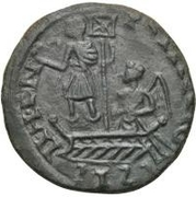 Bronze Æ - In the name of Constans I, 337-350 – reverse