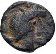 1 Nummus (Imitating Vandal Sardinia Nummus) – obverse