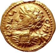 1 Quinarius - Imitating an Uncertain Ruler – obverse