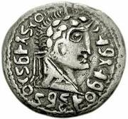 1 Denarius - Imitating Augustus, 27BC-14AD – obverse