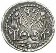 1 Denarius - Imitating Augustus, 27BC-14AD – reverse