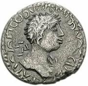 1 Denarius - Imitating Trajan, 98-117 – obverse