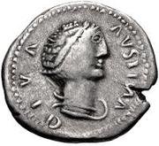 1 Denarius - Imitating Diva Faustina Senior, 138-140 – obverse