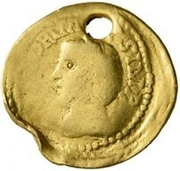 1 Quinarius - Imitating Septimius Severus, 193-211, & Julia Domna, 193-217 – obverse